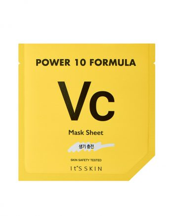 Masca de fata Power 10 Formula VC cu efect tonifiant 25ml - It's skin