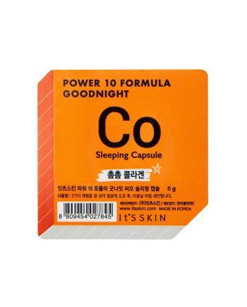 Ser de noapte pentru fata CO Power 10 Formula pentru fermitate 5g - It's Skin