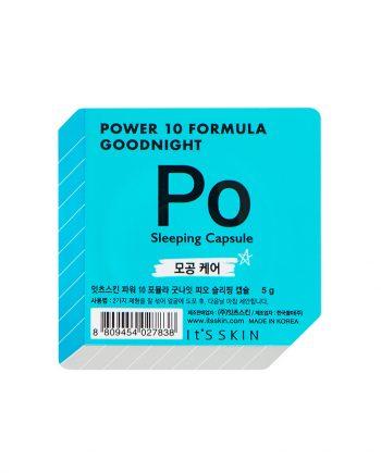 Ser de noapte pentru fata PO Power 10 Formula pentru inchiderea porilor 5g - It's Skin
