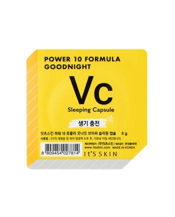 Ser de noapte pentru fata VC Power 10 Formula pentru fermitate 5g - It's Skin