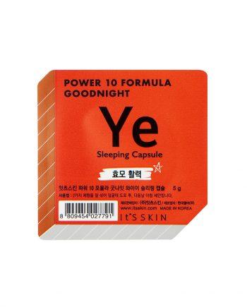 Ser de noapte pentru fata YE Power 10 Formula hranitor 5g - It's Skin