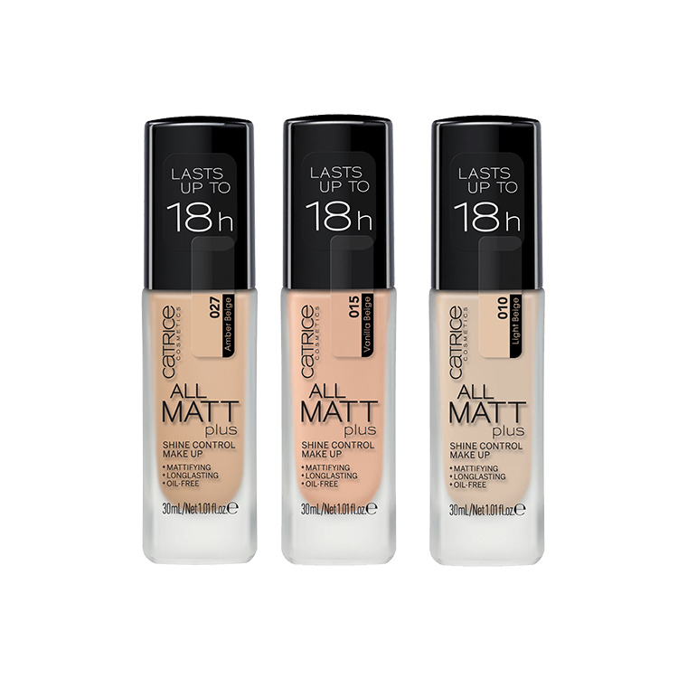 Fond de ten All Matt Plus Shine Control Make Up - Catrice