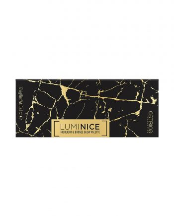 Paleta de farduri Luminice Highlight & Bronze Glow 020 Feel Gold - Catrice