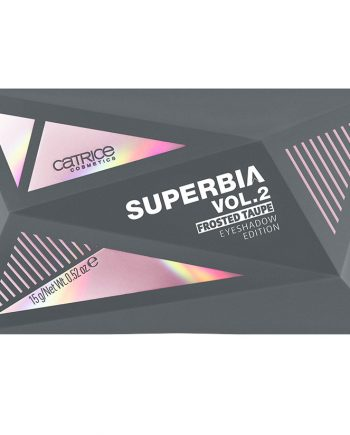 Paleta de farduri Superbia Vol. 2 Frosted Taupe Eyeshadow Edition - Catrice