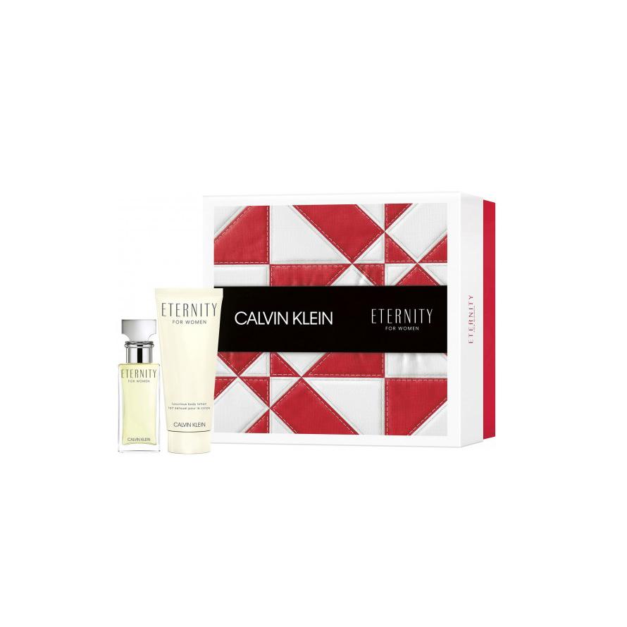 Set cadou Calvin Klein Eternity Woman Apa de parfum 30 ml + Lotiune Corp 100 ml