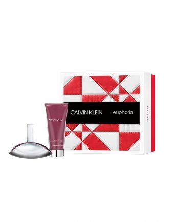 Set cadou Calvin Klein Euphoria Apa de parfum 50 ML + Lotiune de corp 100 ML