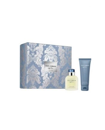 Set cadou Dolce&Gabbana Light Blue Apa de toaleta 75ml + Balsam After Shave 75ml