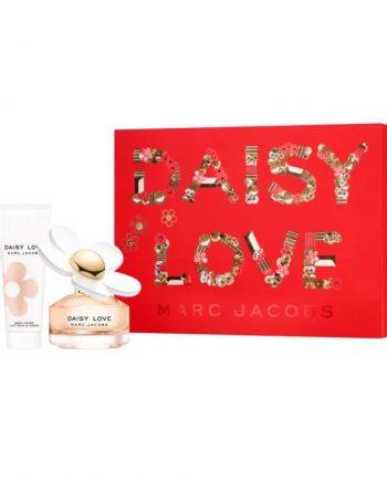 Set cadou Marc Jacobs Daisy Love Apa de toaleta 50ml + Lapte de corp 75ml + Gel de dus 75ml