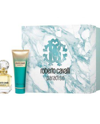 Set cadou Roberto Cavalli Paradiso Apa de parfum 50ml + Lapte de corp 75ml