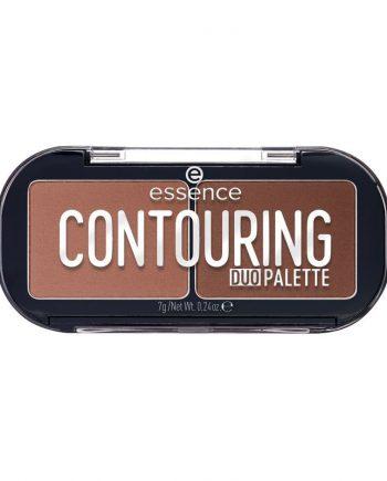 Paleta Contur Essence Contouring Duo Palette 20 Darker Skin