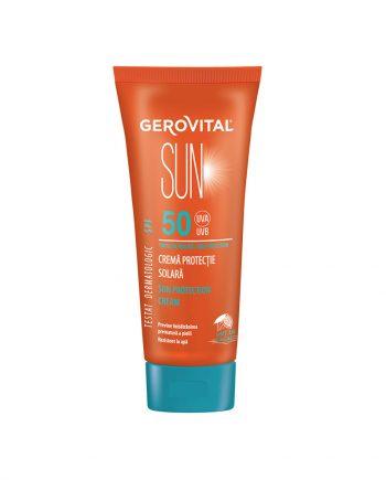 Crema Protectie Solara SPF50 Gerovital 150ML