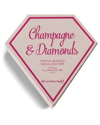 Highlighter Triple Baked Highlighter Diamond I Heart Revolution